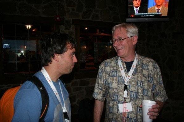 Robert Lemke im Gespräch mit Ron Hall.