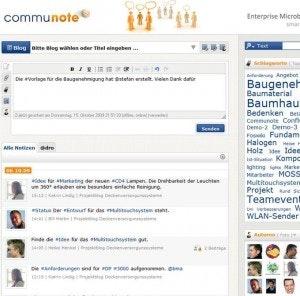 Enterprise Microblogging ist leicht einzuführen. Am Markt haben sich bereits Lösungen wie Communote, Yammer und Socialtext etabliert.