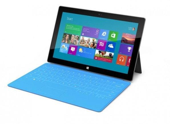 Surface wird von Microsoft ab Release mit einer Tastatur ausgestattet.