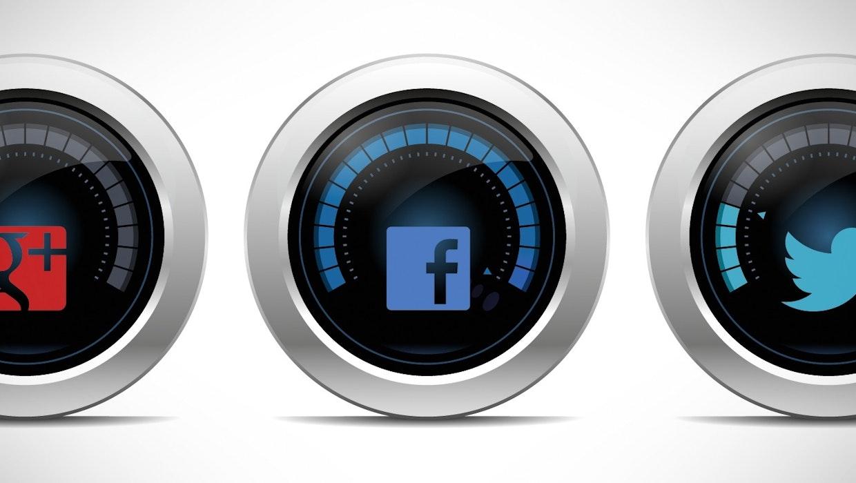 Social Media Dashboards für Facebook, Twitter und Google+