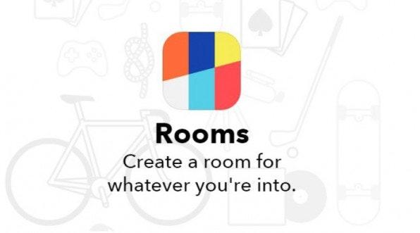 Mit der App Rooms können Unternehmen virtuelle Räume einrichten, in die sie auch Nicht-Facebook-User einladen können, etwa um exklusive Informationen mit Markenbotschaftern zu teilen. (Screenshot: rooms.me)
