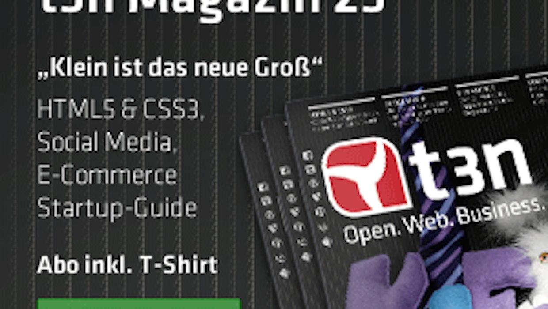 t3n-Partnerprogramm: Die neuen Werbemittel zu t3n Magazin 23 sind da
