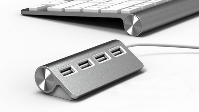 Stylisches Zubehör: 5 USB-Hubs im Apple Design