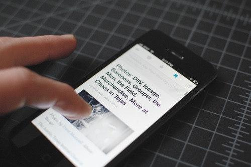 Auch eine mobile Version des Digg Readers ist geplant. (Foto: Digg)