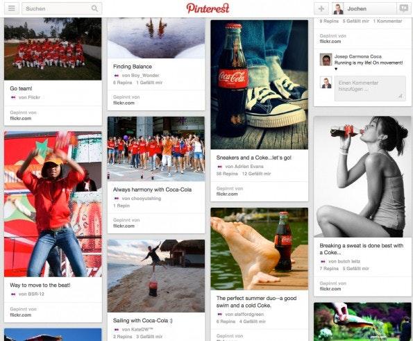 (Screen: Pinterest/Coca Cola)