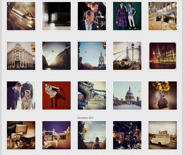 (Screen: Instagram/Burberry)