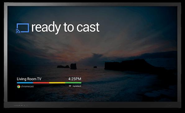 Google Chromecast basiert auf einer sehr reduzierten Version von Chrome OS: Ohne zusätzliches Gerät kann man nicht viel mit dem Chromecast anstellen.