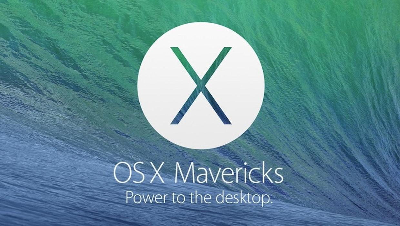 Mac OS X 10.9 Mavericks: Ab sofort kostenlos für alle Nutzer zum Download