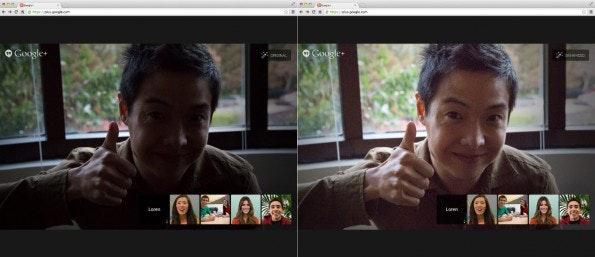 Google wendet seine Bildkorrekturen zukünftig auch auf Live-Kamerabilder an. (Quelle: googleblog.blogspot.com)