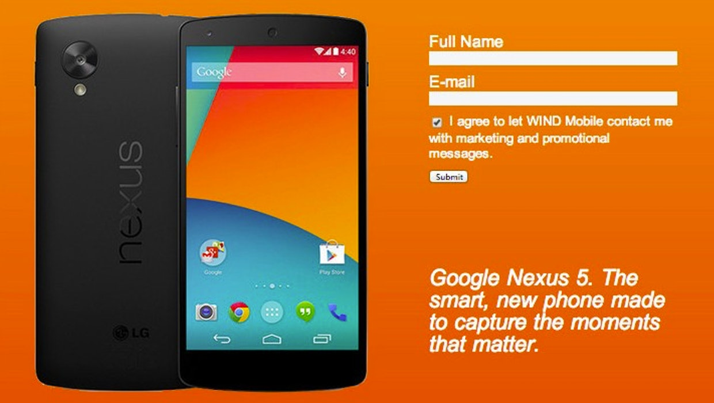 Nexus 5: Alle Daten zu Googles nächstem Smartphone