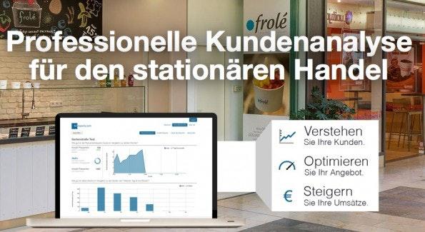 Ein Software-as-a-Service-Dienst liefert die Statistiken zum Einzelhändler.(Screenshot: 42reports)