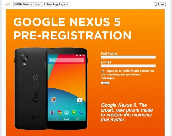 Nexus 5: Bald dürfte es soweit sein. (Screenshot: mobilesyrup)