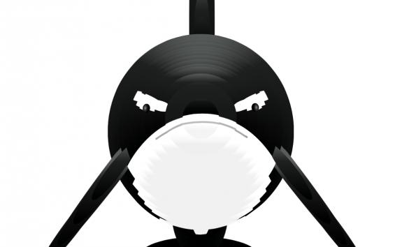 Interaktive Wal-Animation mit SVG