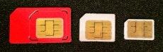 Von links nach rechts: Mini-SIM, Micro-SIM, Nano-SIM (Bild: t3n.de)