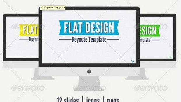 xdesigns hat rund 50 Vorlagen für Keynote zusammengetragen. (Bild: envato)