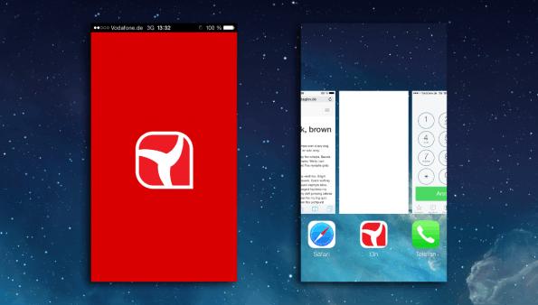 WebApp Startbildschirm