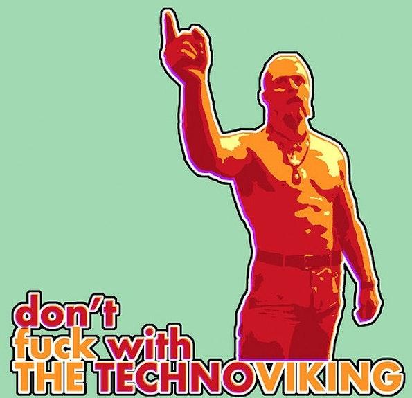 """Der """"Technoviking"""" ist zu eiem der größten Internet-Meme unserer Zeit geworden. (Grafik: Flickr-Valtteri Mäki / CC BY-SA 2.0)"""