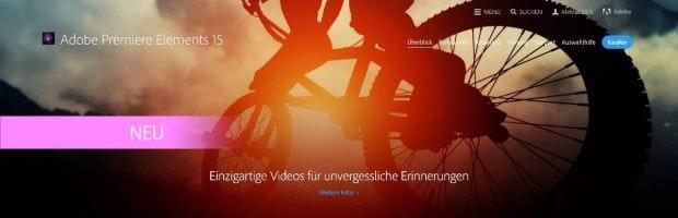 Premiere Elements ist der Einstieg in die Adobe-Video-Welt. (Screenshot: Adobe)