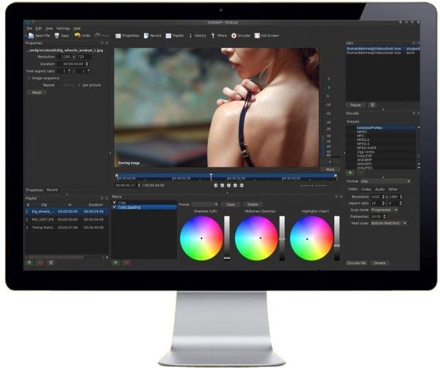Shotcut ist Open Source und plattformübergreifend verfügbar. (Grafik: Shotcut)