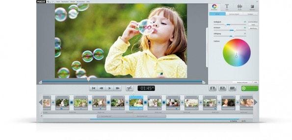 Magix Video easy HD nimmt den Nutzer mit Lernvideos beim Einstieg an die Hand. (Screenshot: Magix)