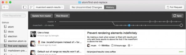 Git-GUI-Client GitHub Desktop (Screenshot: GitHub Desktop)