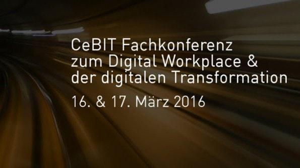 Arbeitsorganisation im digitalen Zeitalter ist das Thema in der Enterprise Digital Arena. (Grafik: Kongress Media)