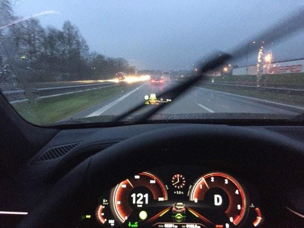 HUD BMW 740