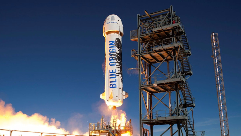 """""""That's a dick"""": Die besten Netzreaktionen auf Jeff Bezos' New-Shepard-Rakete"""