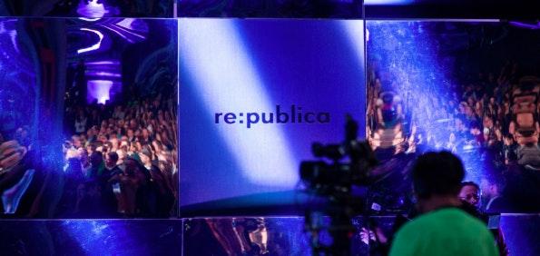 Auf der re:publica trifft sich die Netzgemeinde zum Austausch. (Foto: © re:publica/Jan Zappner CC BY 2.0)