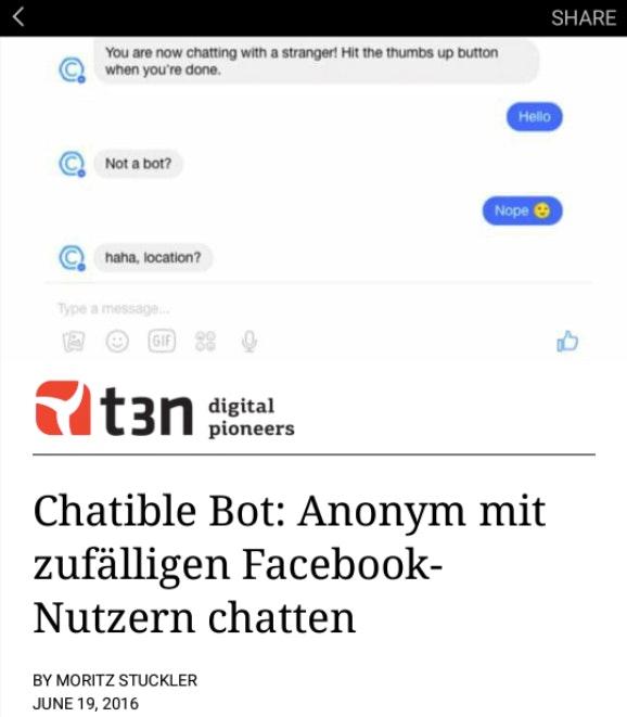 t3n-Beitrag als Instant Article. (Screenshot: t3n.de)
