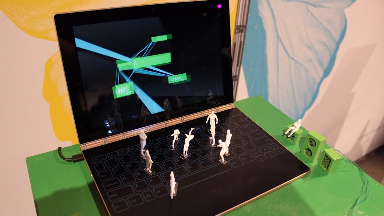 Yoga Book: Mit diesem ungewöhnlichen Gerät will Lenovo den Tablet-Markt beleben