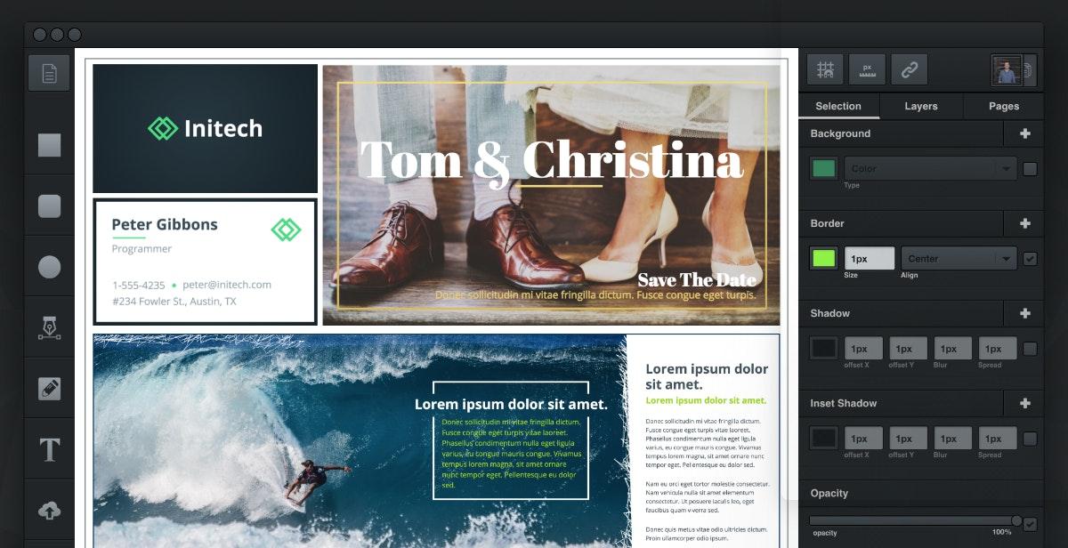 (Screenshot: vectr.com)