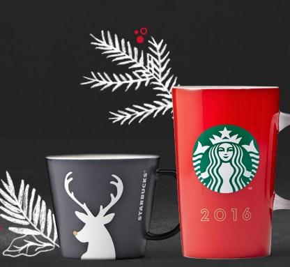Starbucks Weihnachtsbecher 2016