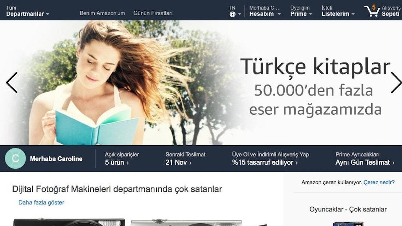 Merhaba, Türkiye: Amazon.de spricht jetzt türkisch und liefert kostenfrei in die Türkei