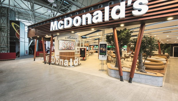 McDonalds Flagship-Restaurant am Flughafen Frankfurt. (Foto: obs/McDonald's Deutschland)