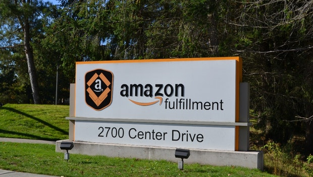 Amazon Logistikzentrum in Dupont, Washington, USA.  (Foto: Jochen G. Fuchs)