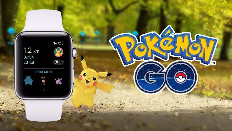 Pokémon Go ist jetzt endlich auch für die Apple Watch verfügbar