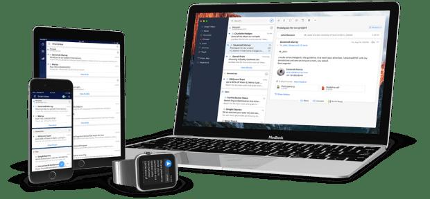 Mit der Version für den Mac gibt es Spark jetzt für alle Apple-Plattformen. (Grafik: Readdle)