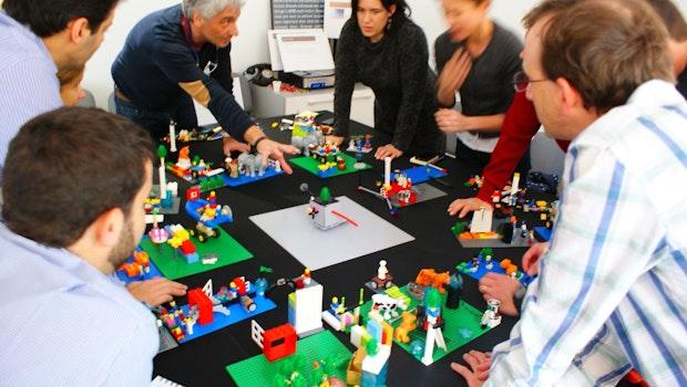 Lego-Steine eignen sich auch für das Brainstorming. (Foto: Lego)