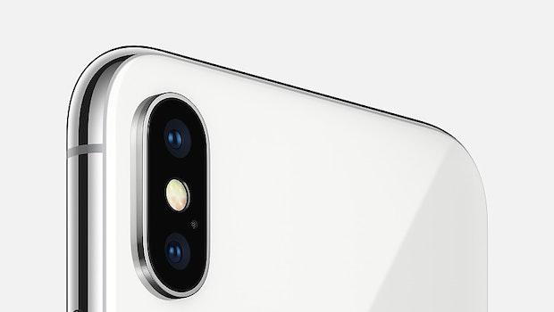 Das iPhone X – Glas soweit das Auge reicht. (Bild: Apple)