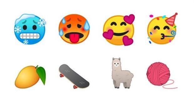 Android 9.0 Pie hält viele neue Emoji für euch bereit. (Bild: Emojipedia)