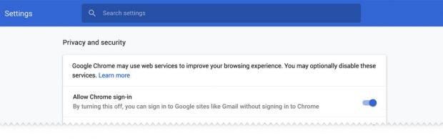 Ab Chrome 70 werden Nutzer das veränderte Login-Verhalten immerhin deaktivieren können. (Grafik: Google)