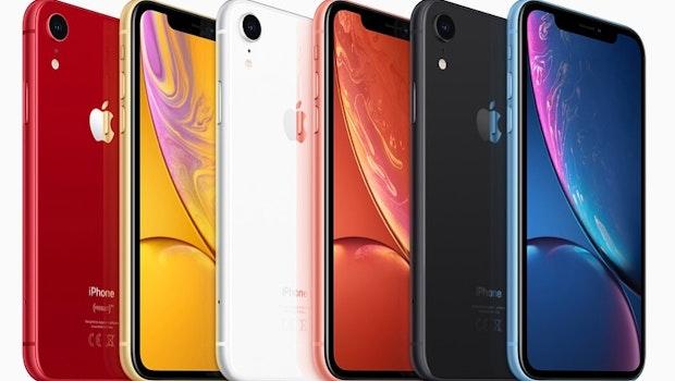 Das iPhone Xr wird bunt. (Bild: Apple)