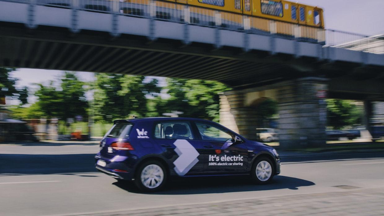 Volkswagen We Share: E-Auto-Carsharing startet in Berlin