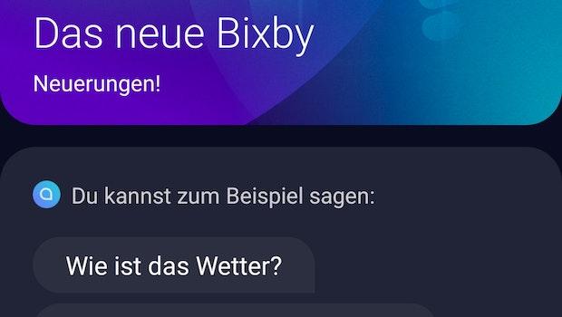 Bixby spricht jetzt Deutsch. (Screenshot: t3n)