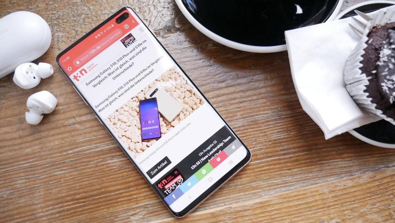 Galaxy S10 und Note 10: Samsung verteilt Update auf Android 10