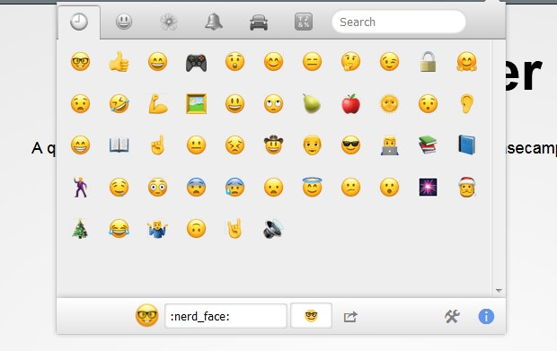 Emojis in Firefox