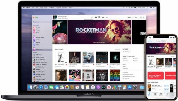 iTunes-Store in der Musik-App
