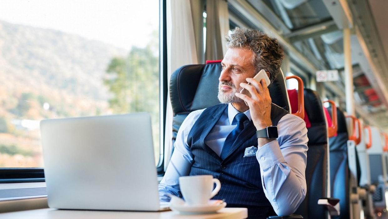 Datenschutz: So viele Firmeninterna geben Mitarbeiter im Zug preis