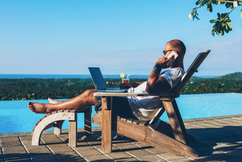 Accessible on vacation?  If need be, then with these rules of the game